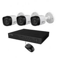 Full HD 720p 04 Channel Jovision DVR With 04 Units Full HD 720p Hikvision Camera (O)